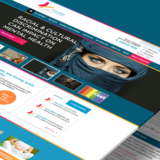 BeyondBlue Website Design